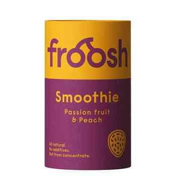 Smoothie Peach & Passion Paper Can