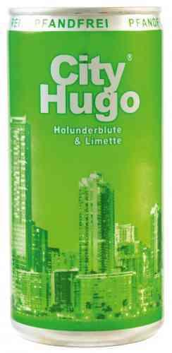 Aromatissche Holunderblüte -. mit City Hugo wird es spritzig frisch