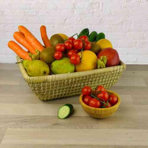 Geschenkkorb Detox Feeling - pures Obst und Gemüse - das Entgiften kann beginnen