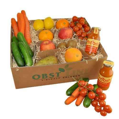 Geschenkbox im Detoy Style mit Smoothie Orange, Carrot & Ginger