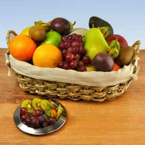 Geschenkkorb Hawai - Das ist die pure Obstvielfalt in einem einzigen Obstkorb