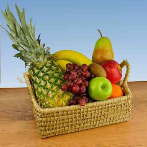 """Ein netter Korb, knackfrisches Obst - Das bietet Ihnen der Geschenkkorb """"Orlando"""""""