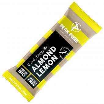 Peak Punk Bio Organic Energy Bar Almond Lemon