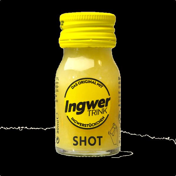 Ingwer Trink Shot